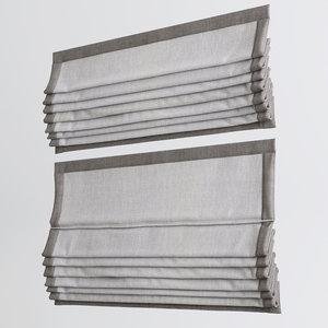 3ds max roman curtains