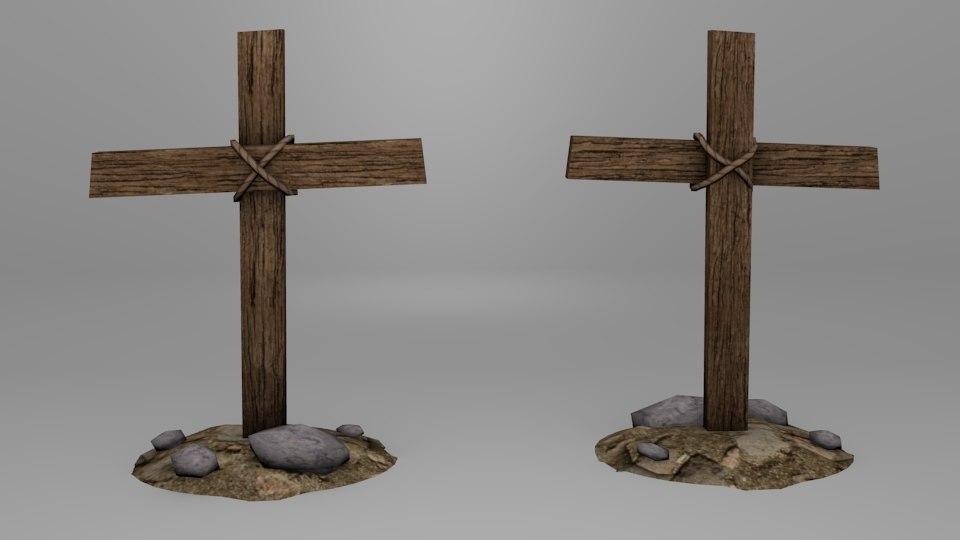 obj old cross