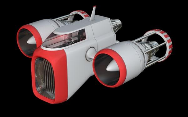 3d model fatboy xpresso controlled