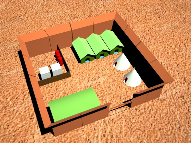 free terrain 3d model