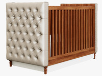 restoration hardware chesterfield 3d max