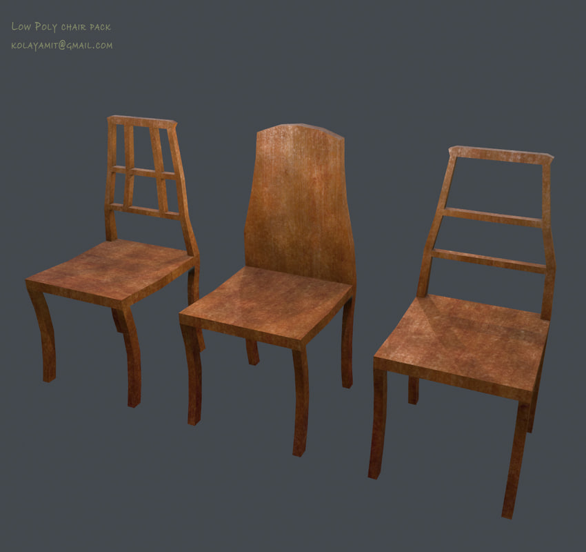 3dsmax pack ready chairs
