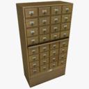 card catalog 3D models
