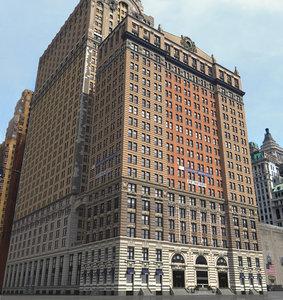 3ds whitehall building skyscraper