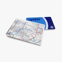3d oyster card wallet london underground