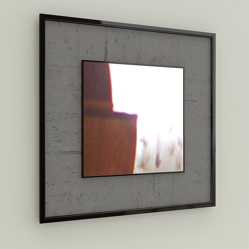 3d mirror panel model