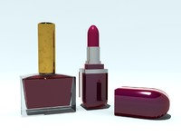 lacquer and lipstick
