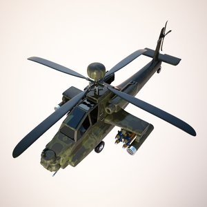 3ds max attack helicopter