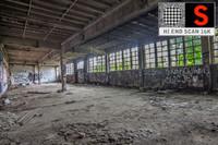 abandoned factory scan ultra 3d model