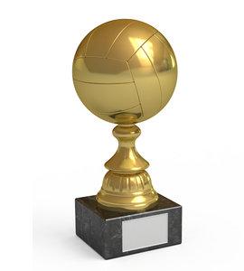 gold cup 3d model