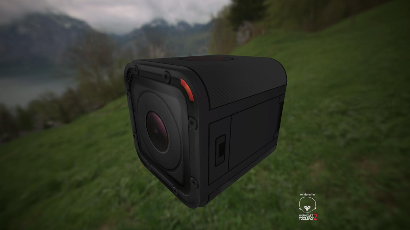 gopro hero 4 3d model