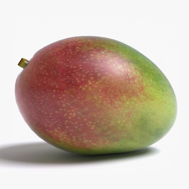 3d realistic mango