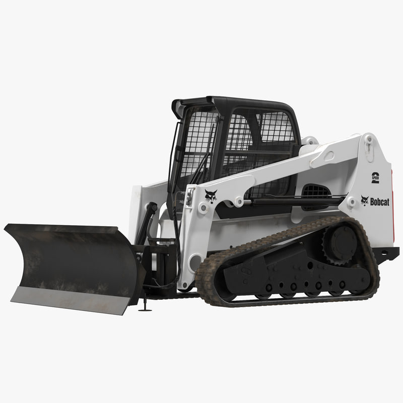 3ds max compact tracked loader blade