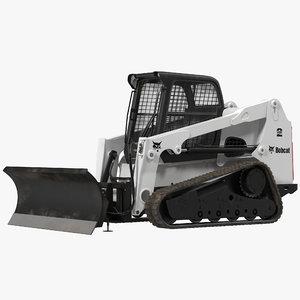 compact tracked loader bobcat max
