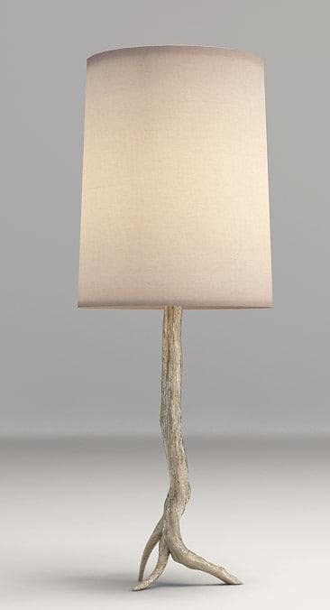 3d arteriors table lamp model