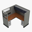 Office Desk 3D models