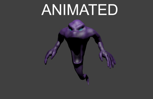 blender rigged spectre