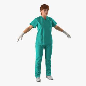 female caucasian surgeon 2 max