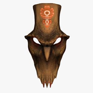 wooden mask demon 3ds