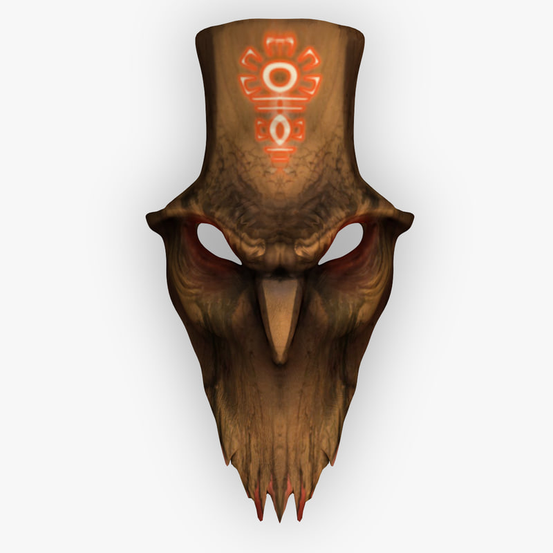 wooden mask demon 3ds