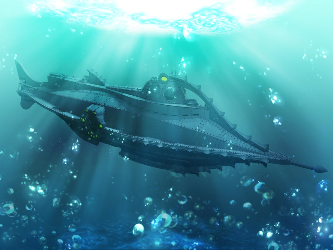 3dm nautilus submarine