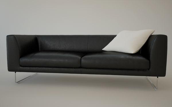3d sofa elan model