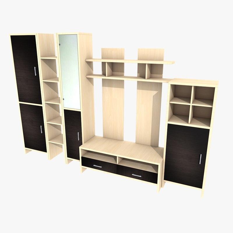 living room furniture 3d c4d