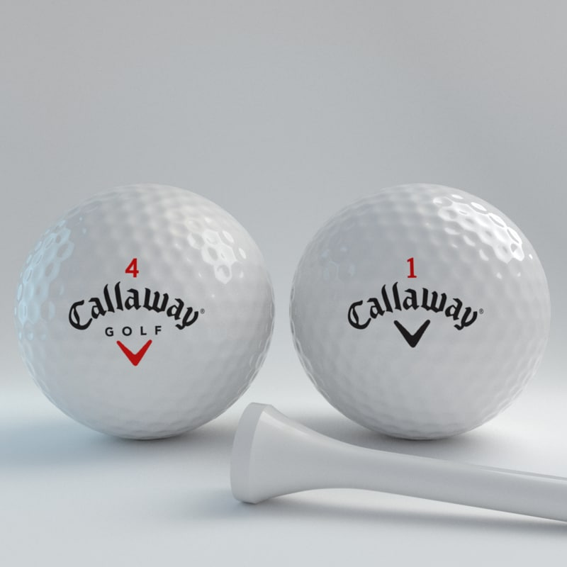 blender golfball callawayv1v4 3ds
