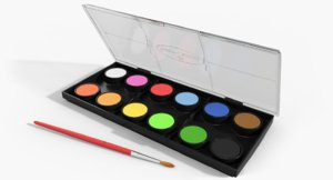 3ds max watercolour set