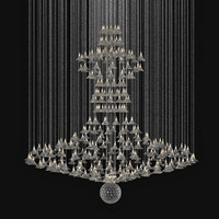 light custom chandelier 3d 3ds