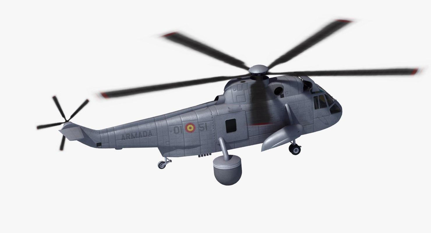 3d model sh-3d sea king