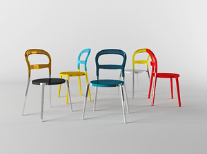 calligaris set chair wien 3ds
