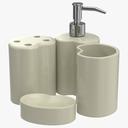 Bathroom Accessories 3D Models Set 2