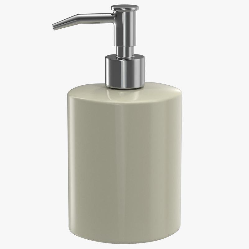 3dsmax soap dispenser