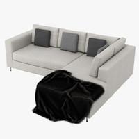 sofa couch chair obj