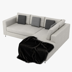 sofa couch chair obj