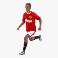 3ds max soccer player manchester united
