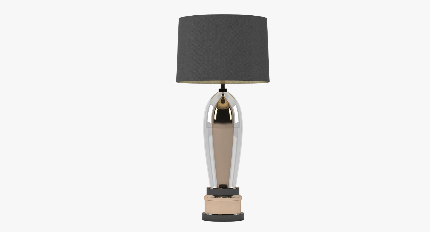 pieter adam lamp light 3d model