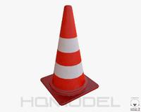free obj model cone pbr