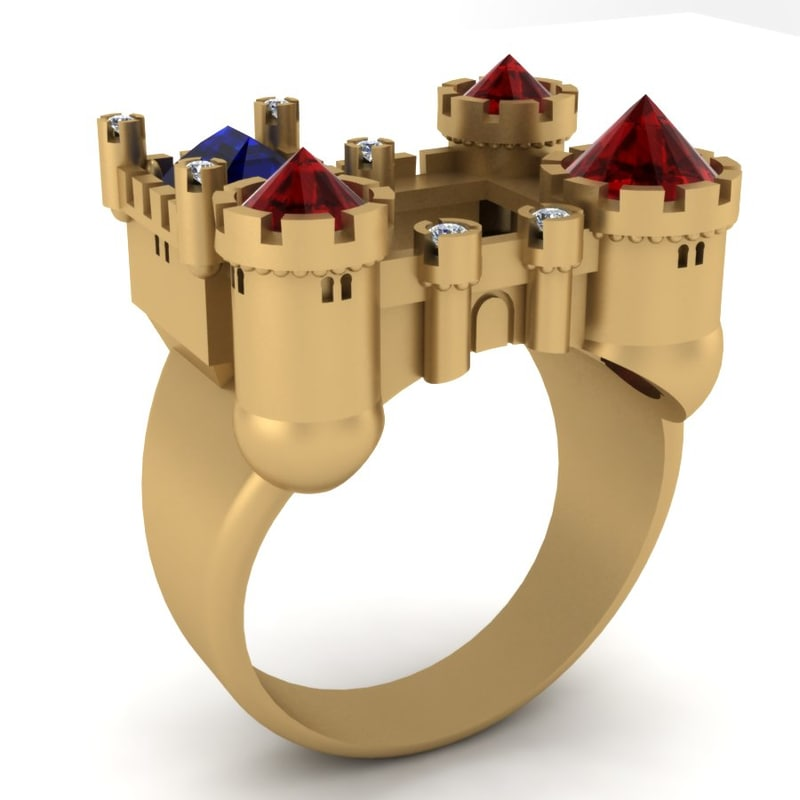 3dm ring men castle