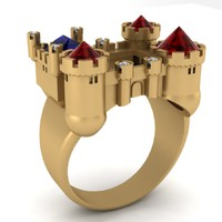 Ring for men castle