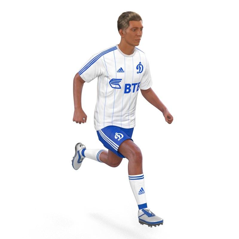 soccer player dynamo rigged max
