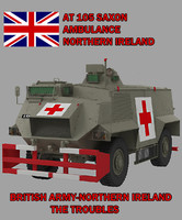 3d 105 ambulance saxon model