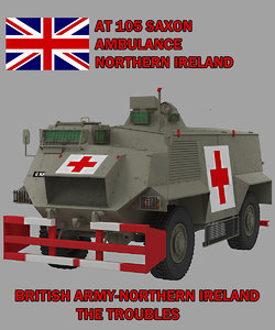 3d 105 ambulance saxon model