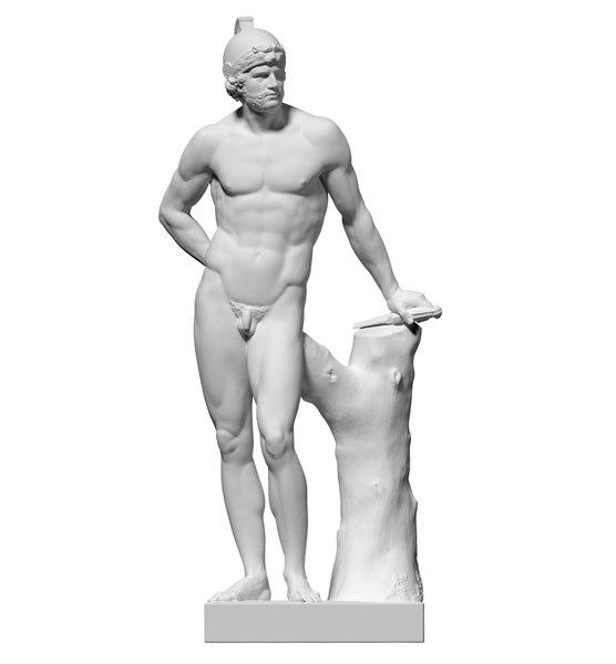 scan statue mars obj free