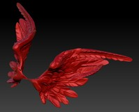 wings 3d obj