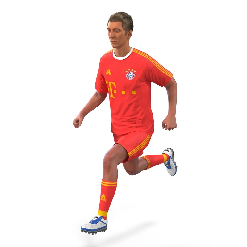 soccer player bayern rigged max