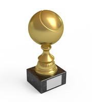 3d trophy tennis