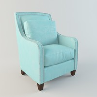 max federico leather chair