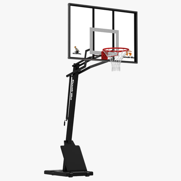 basketball hoop 3d model